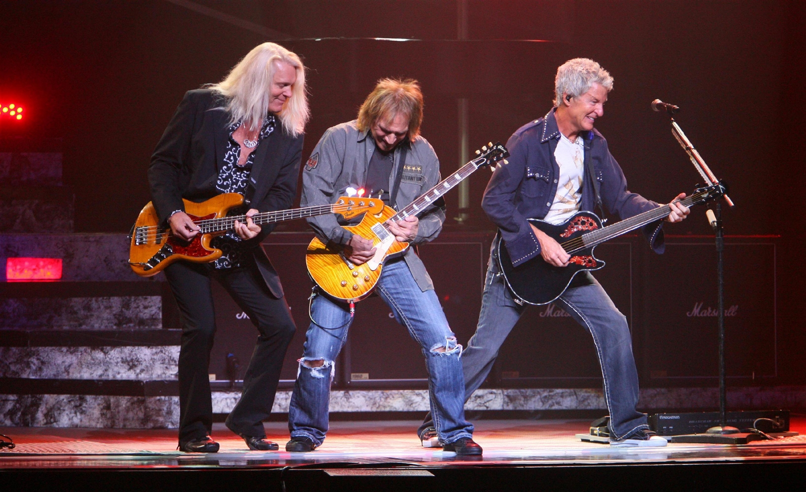 REO Speedwagon, performing here at Fallsview Casino in 2009, played the fair in 2002 and 2005.