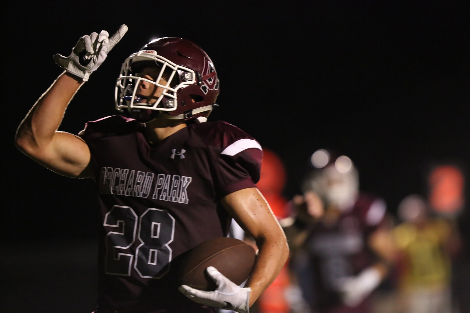 Orchard Park fell to Section V power Pittsford, 35-22, in Week 1 of the high school football season.