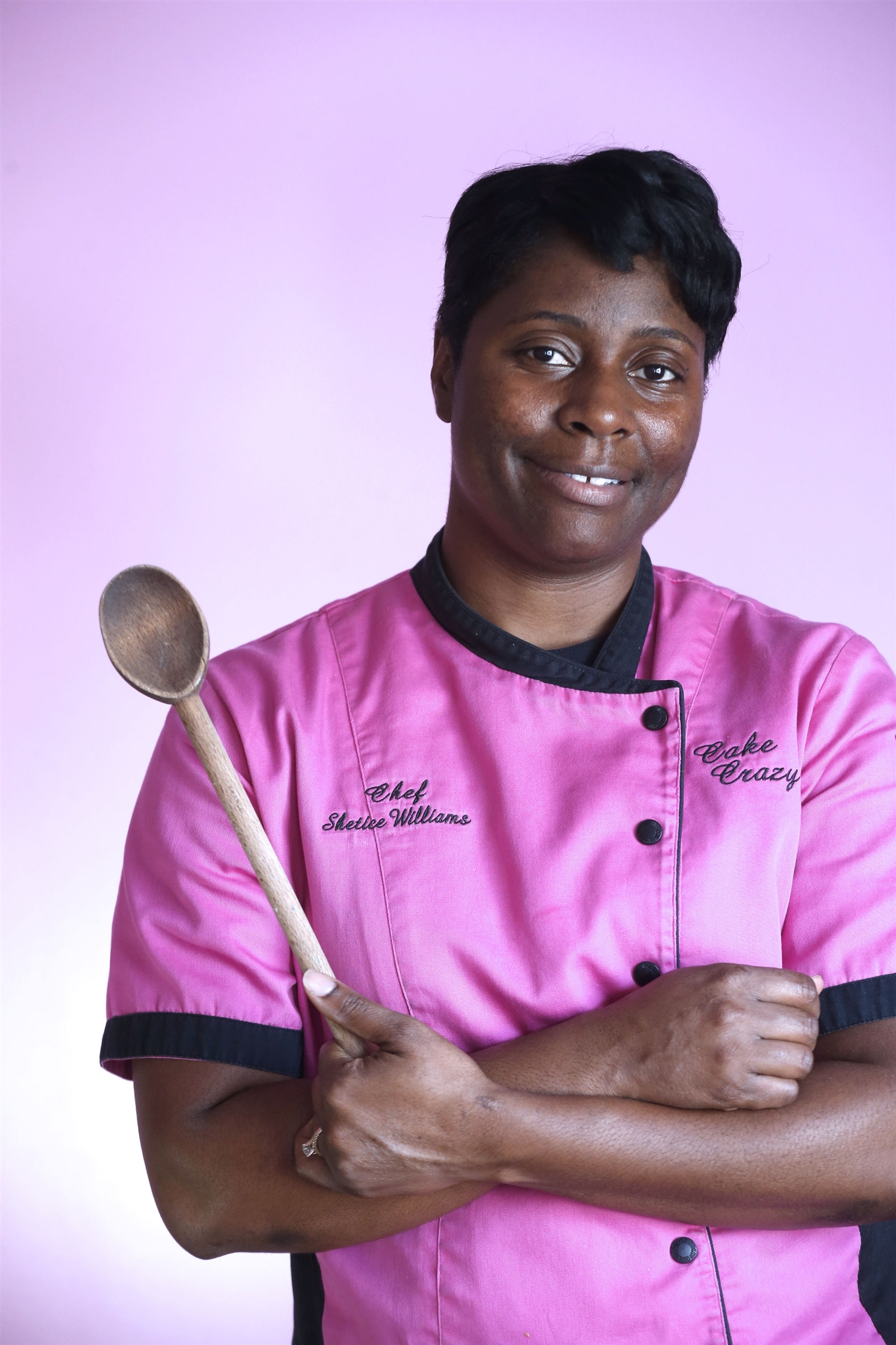Shetice Williams is a graduate of the Culinary Institute of America and former employee of Walt Disneyu2019s Grand Floridian Resort and Emeril Lagasseu2019s New Orleans Fish House Restaurant in Las Vegas.