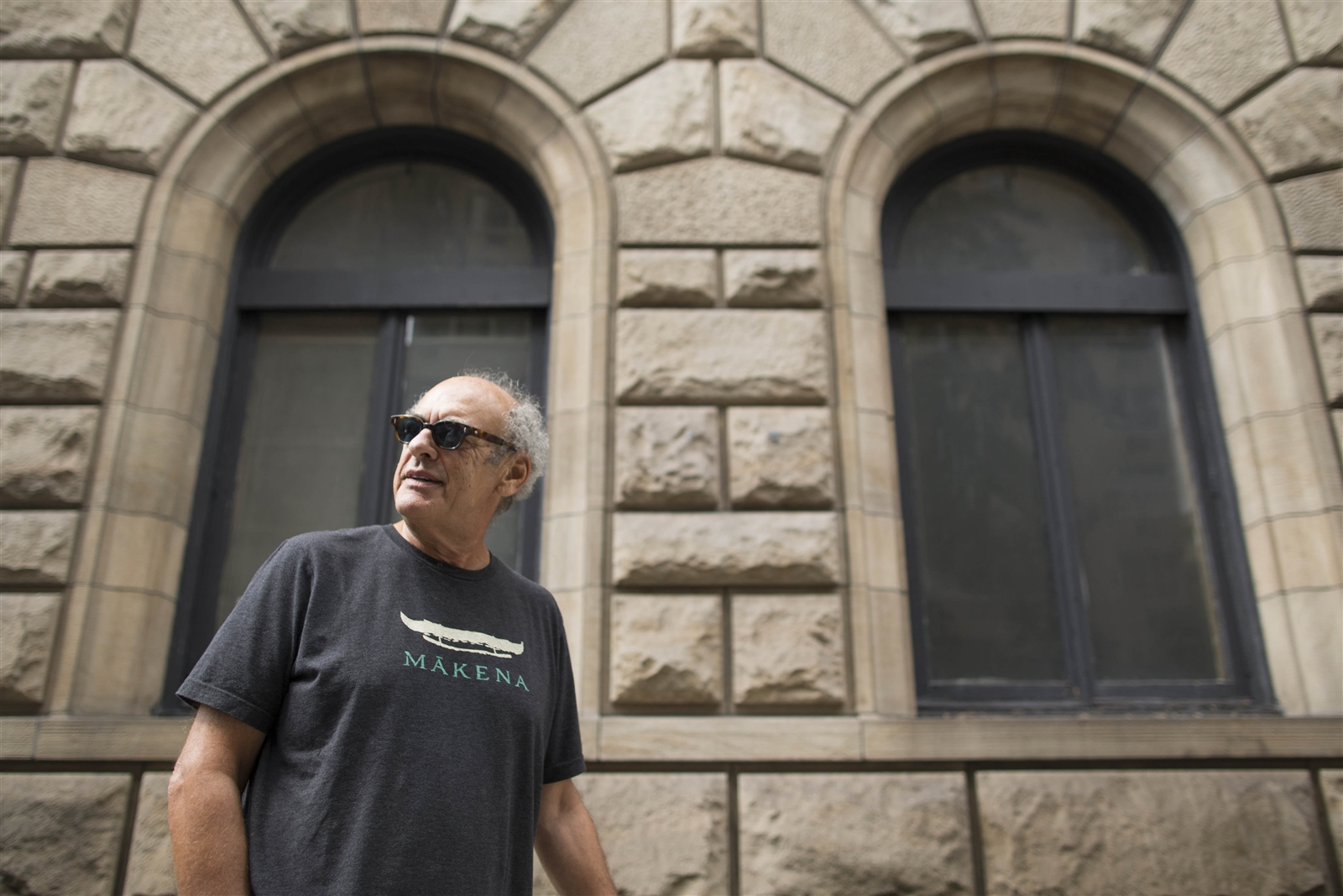 Legendary producer Shep Gordon walks along Lexington Avenue in New York City on Sept. 12. Gordon grew up in the New York City area, but now lives on a beach estate in Hawaii. Gordon doesnu2019t get back here often, but heu2019s in New York for a couple of weeks promoting his autobiography, u201cThey Call Me Supermensch.""