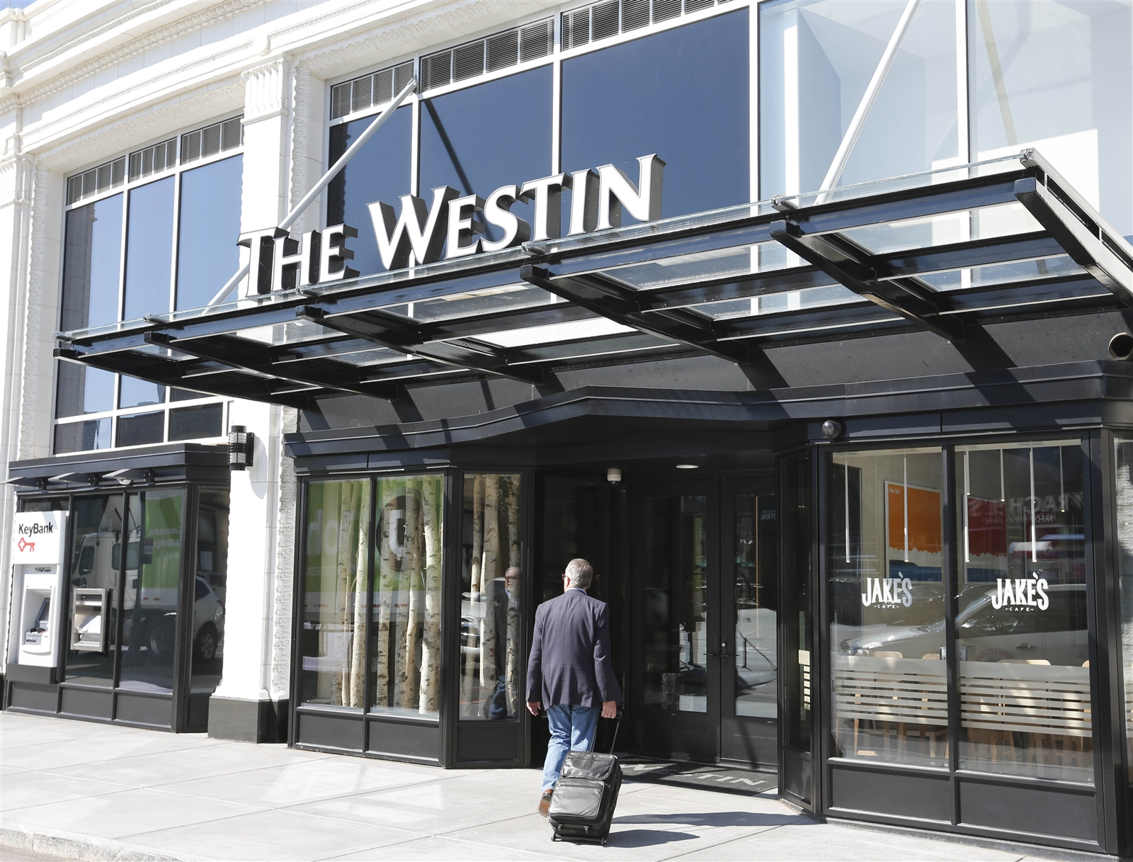 The Westin at 250 Delaware Avenue in downtown Buffalo.