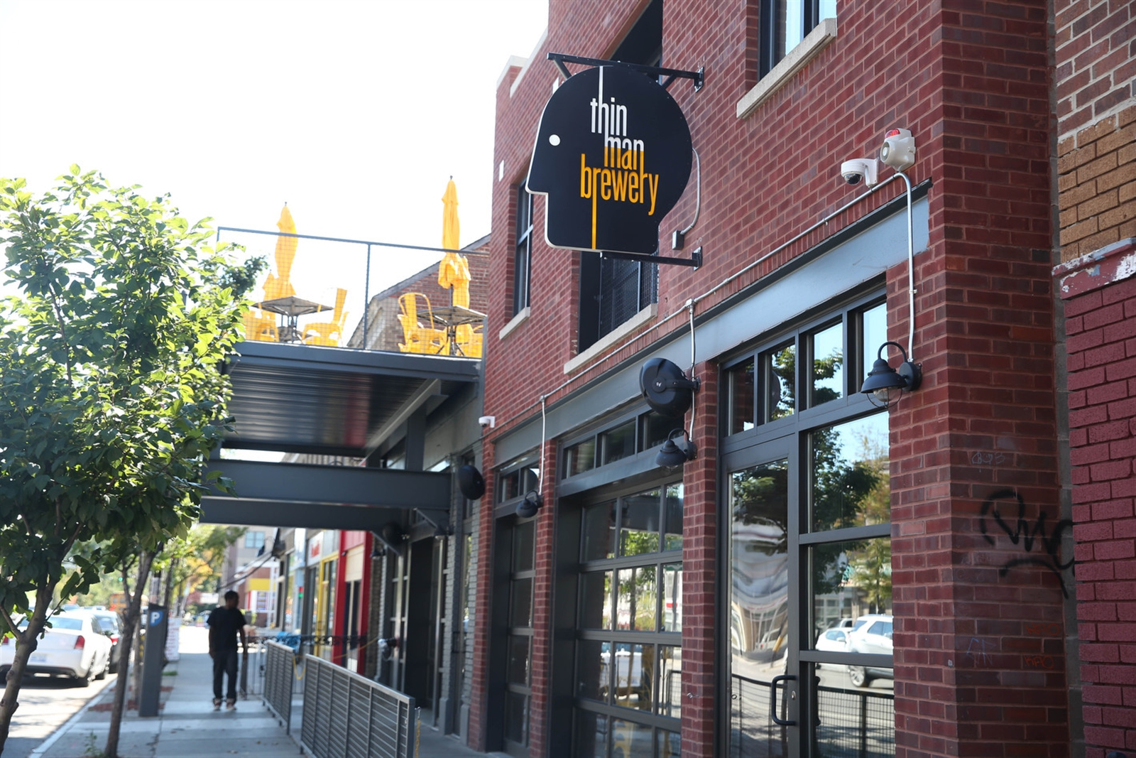 Thin Man Brewery, 490 Elmwood Ave., offers more ambitious food than most breweries.