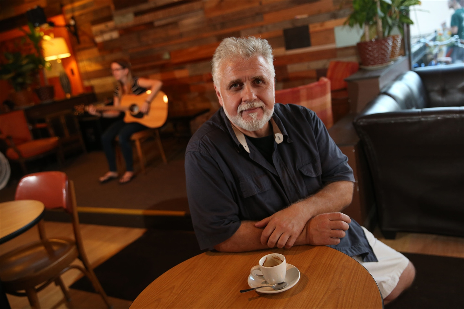 Daily Planet Coffee at 1862 Hertel Ave. is not only a coffee shop, but also a spot for community to gather and for musicians to gain an audience and teach young musicians, too. Owner Mike Caputi, an accomplished drummer, has a passion for music as well as coffee.