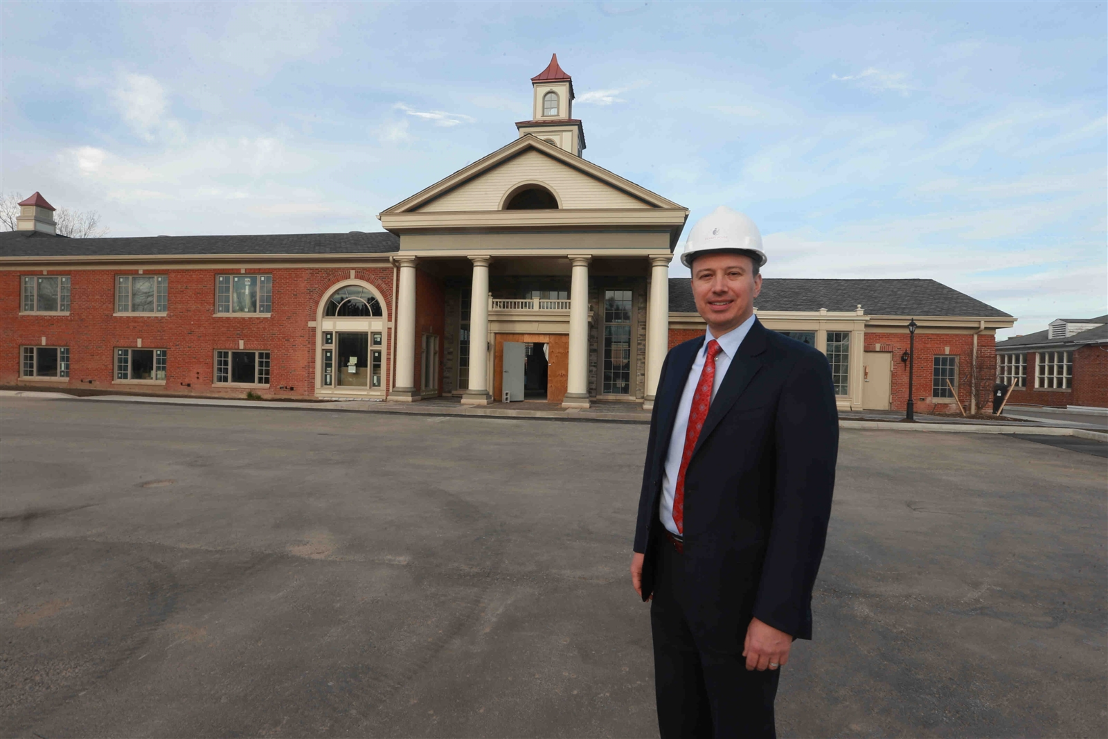 Paul Bohdan Iskalo, president, and CEO of Iskalo Development Corp. at the former Lord Amherst, now Reikart House.