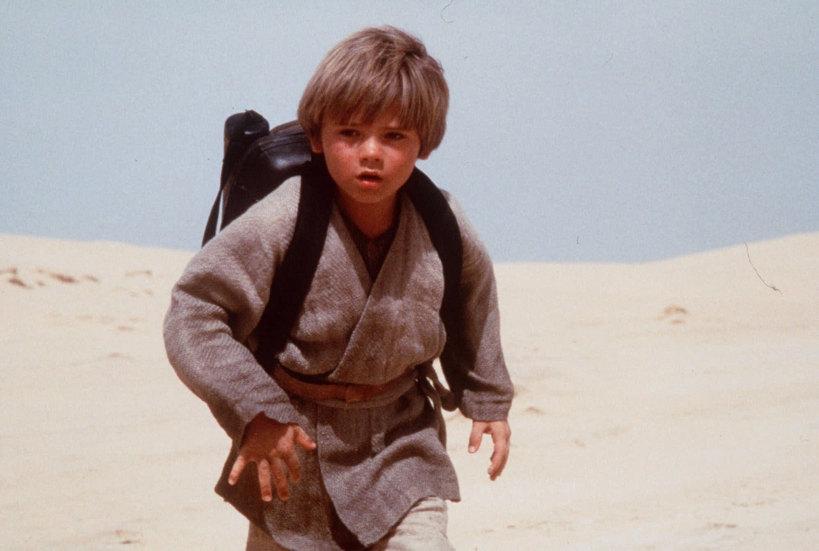 u201cEpisode I: The Phantom Menaceu201d (1999). Fans waited 16 years for this film and have spent just as many trying to forget it. Meet bratty 9-year-old slave Anakin Skywalker. Jedi Master Qui-Gon Jinn deems him the u201cchosen oneu201d who will bring balance to the Force. And so begins Aniu2019s Jedi training.