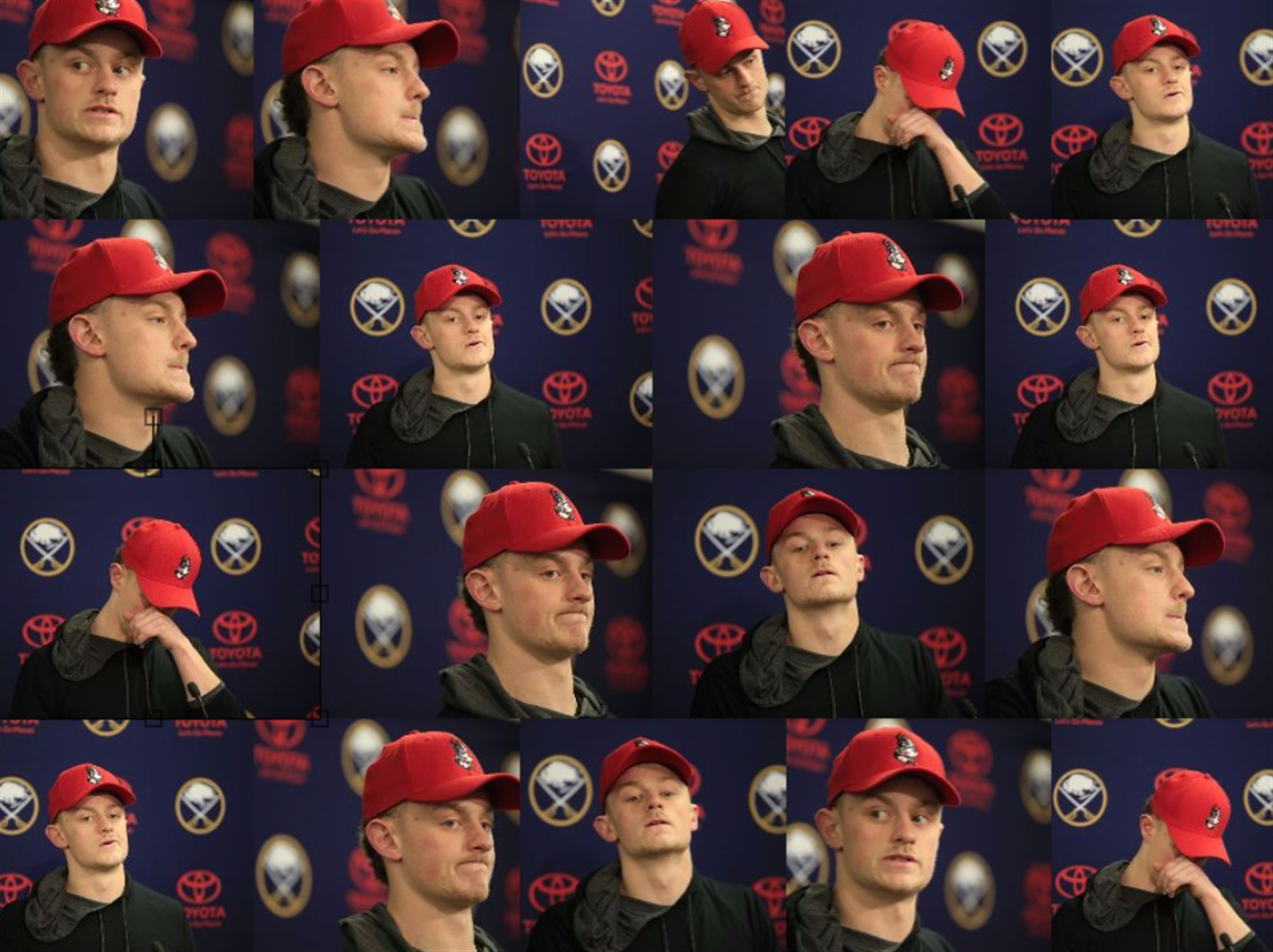 You don't need to look at the standings to know how the Sabres 2016-17 season went u2013 Jack Eichel's face at locker cleanouts said it all.