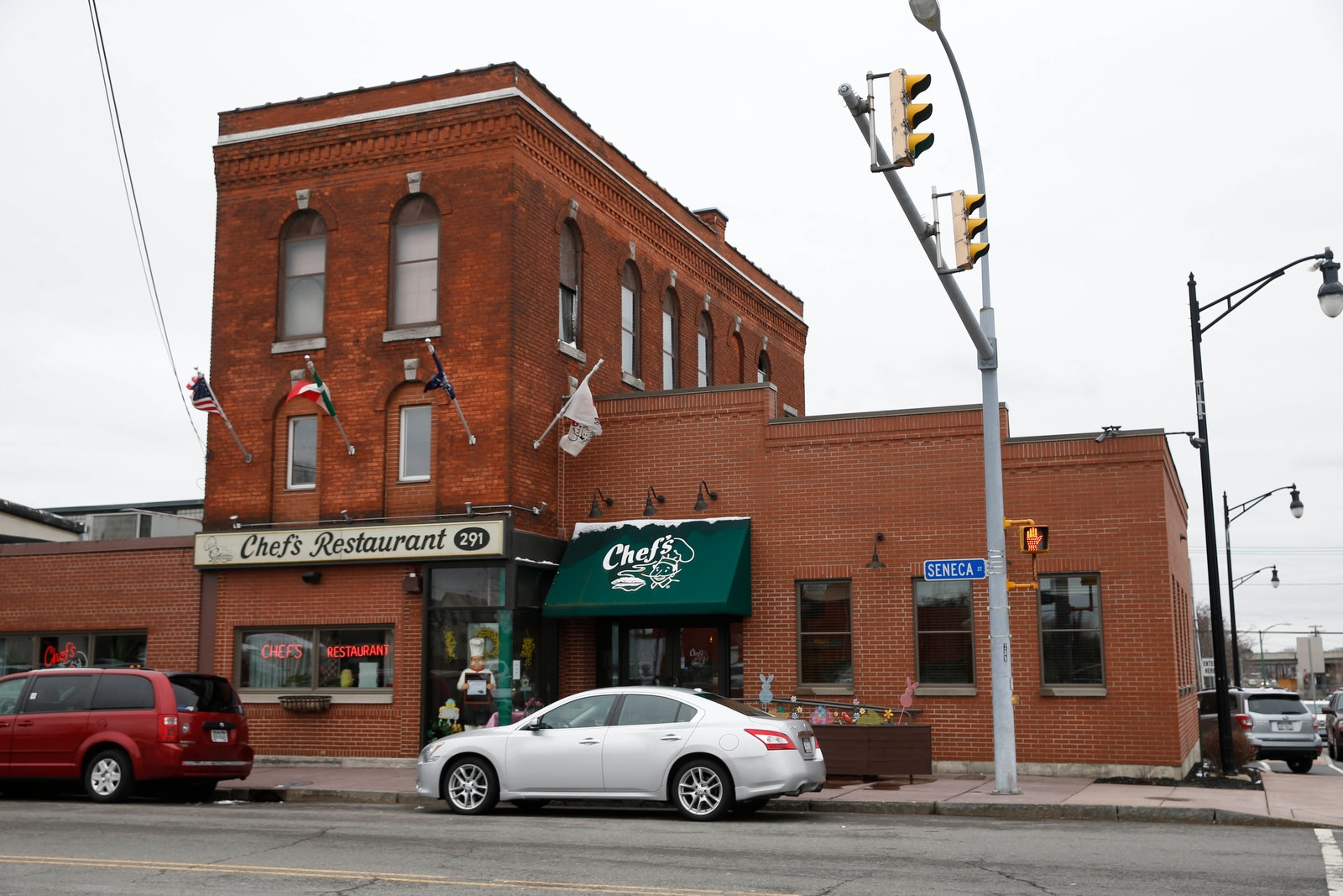 Chef's Restaurant, 291 Seneca St., opened in 1923.