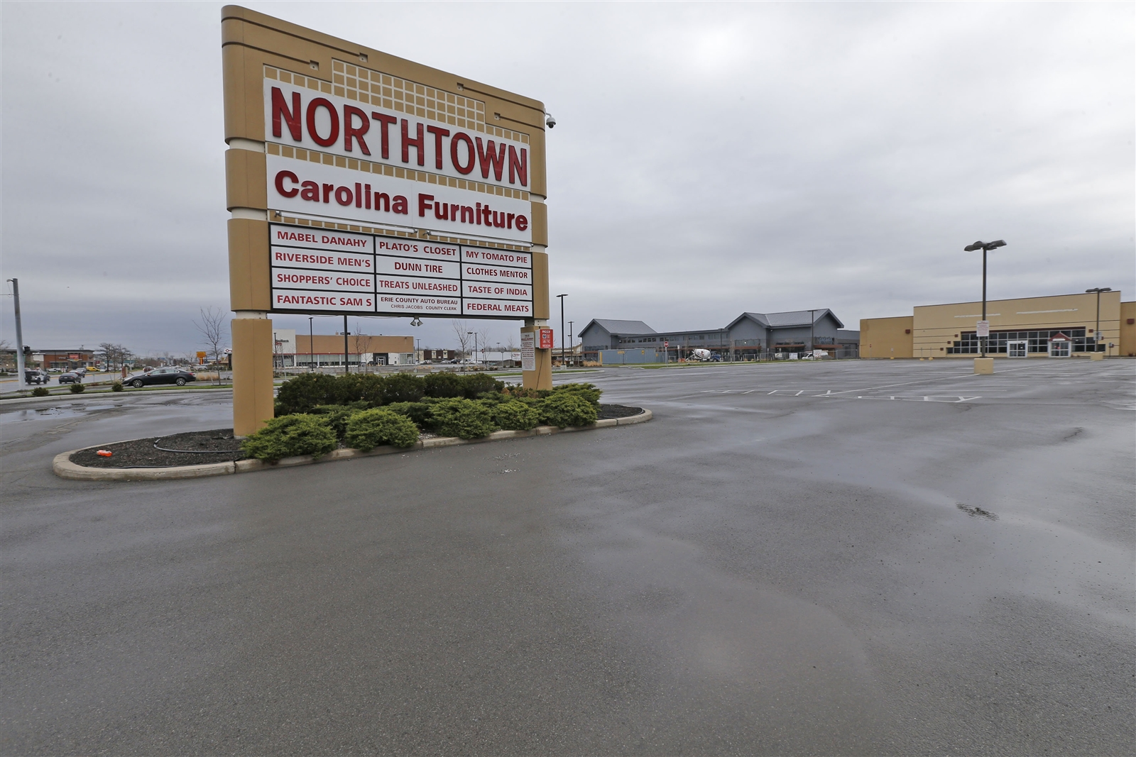 Northtown Plaza pictured on  Wednesday, April 19, 2017.