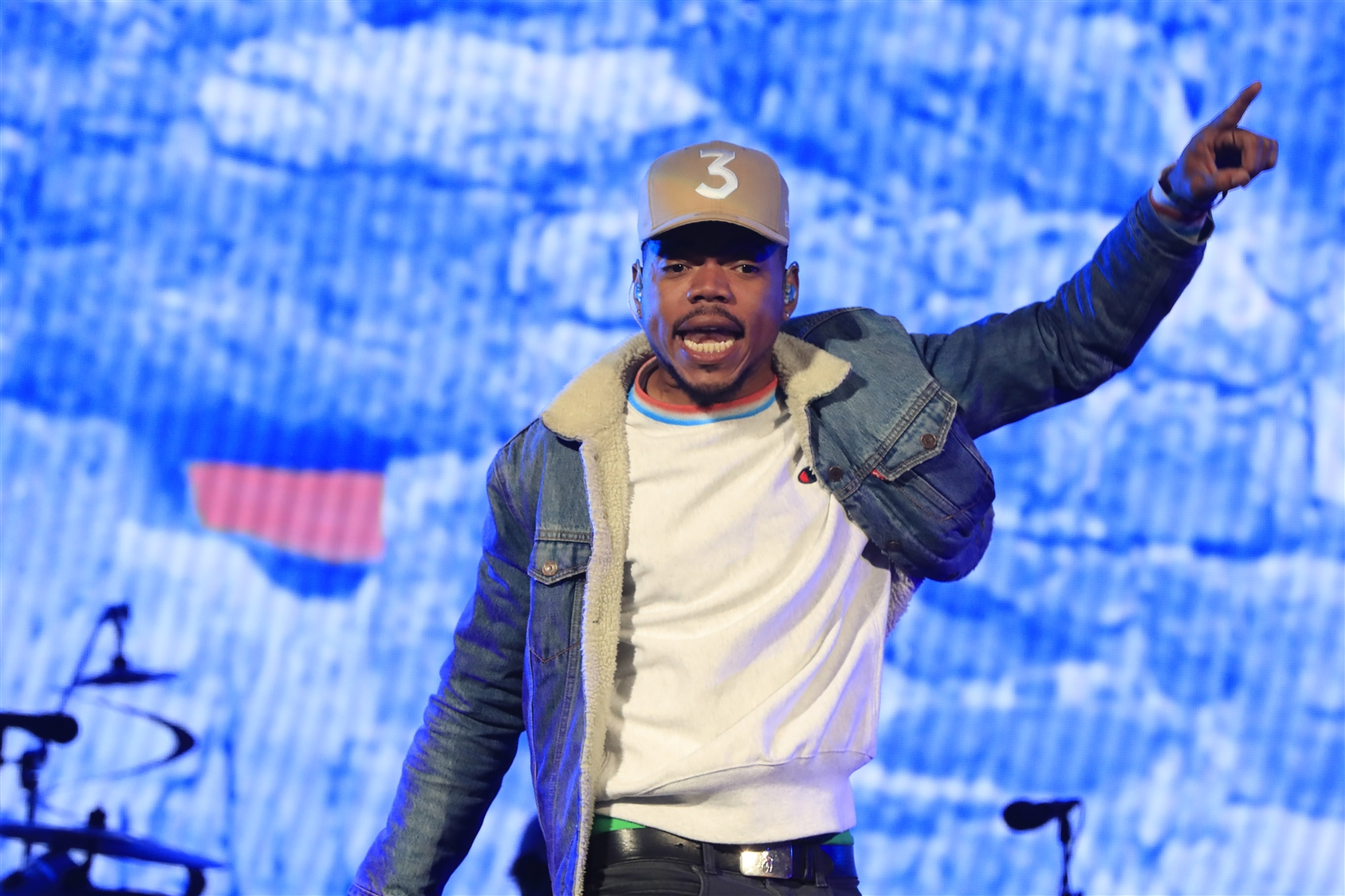Chance the Rapper performs at Darien Lake on Wednesday, May 31, 2017.