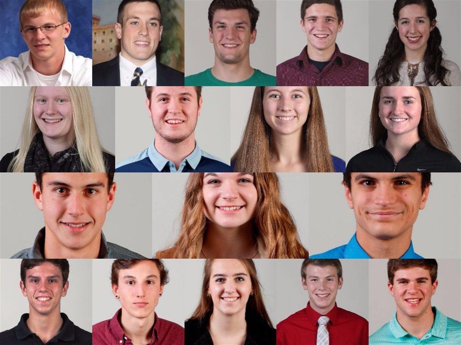 This group of 17 students are the only Western New York athletes who were honored each season: fall, winter and spring.