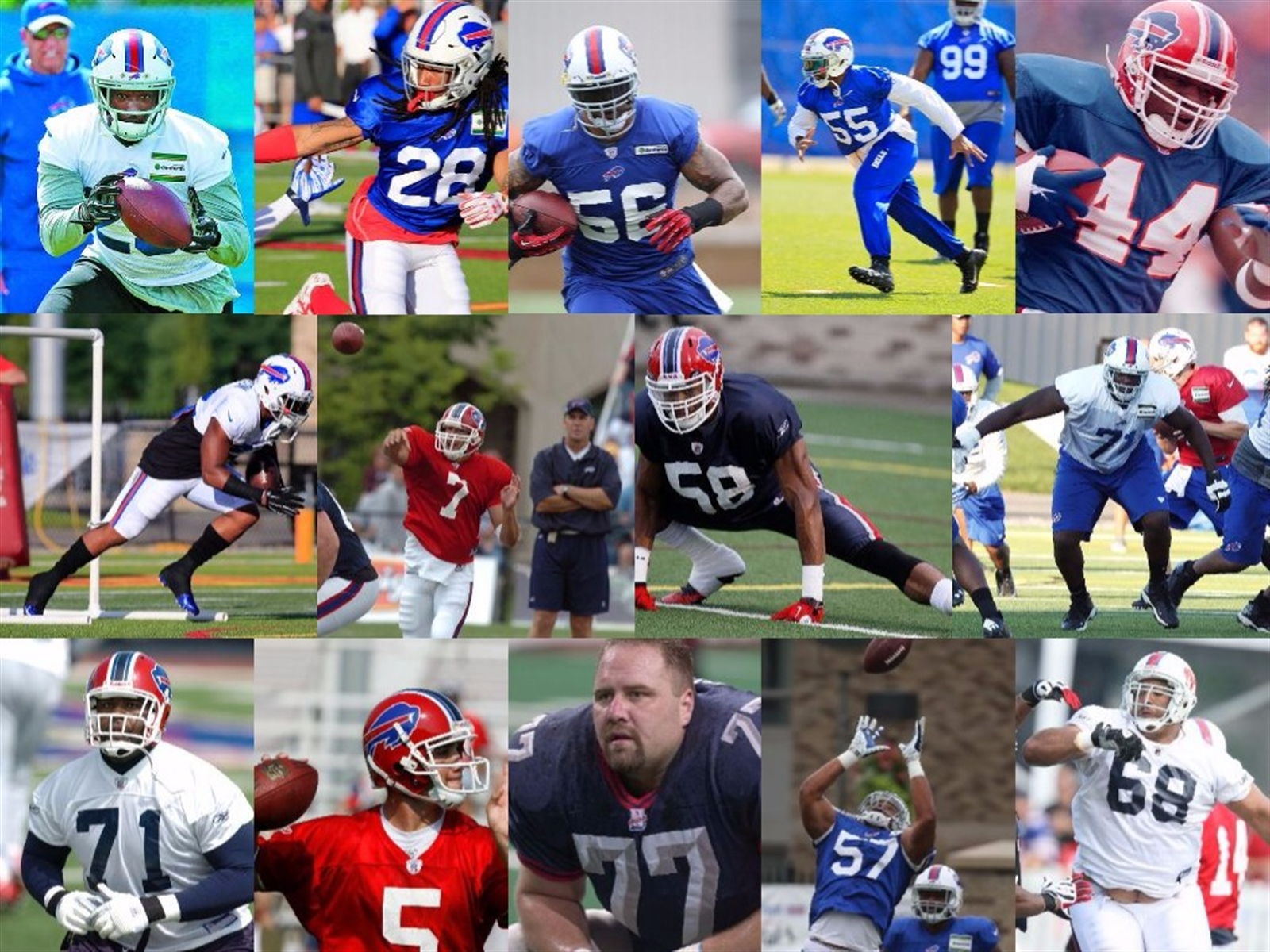 Everyone knows most of the roster spots already are set entering NFL training camp. But every year a handful of playersu2019 stock takes a big rise or fall.