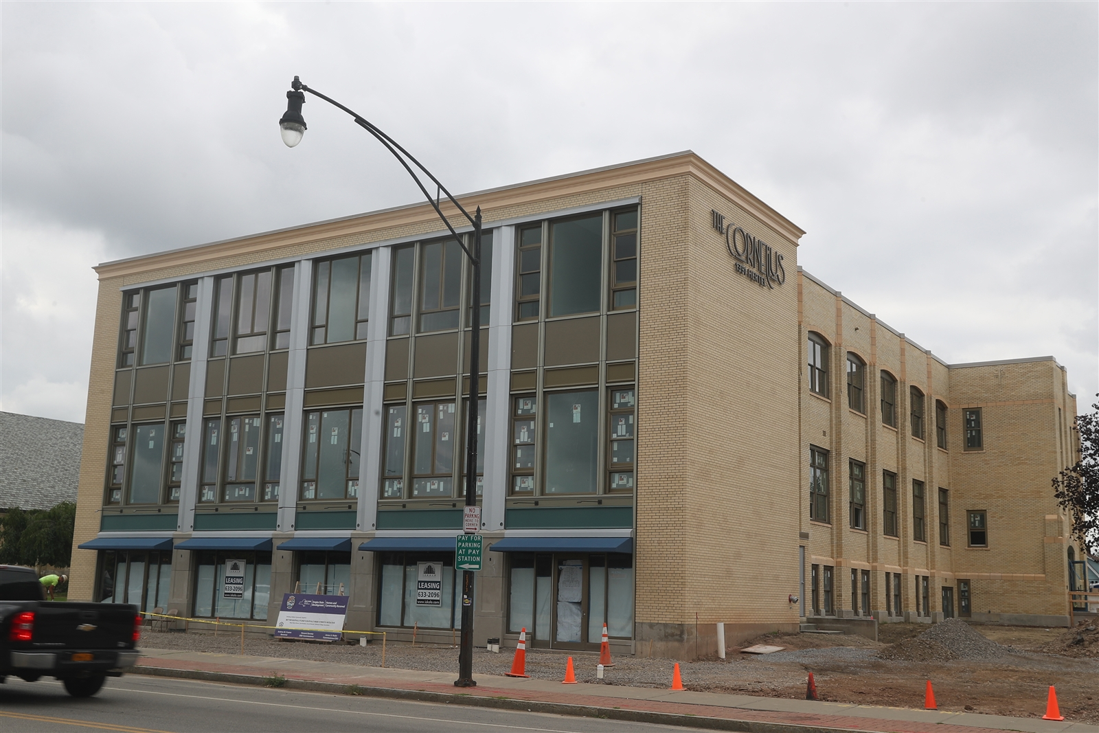 St. Margaret's Elementary School, which closed in 2012, is being converted into 23 one- and two-bedroom market-rate apartments and 2,000-square foot of commercial space.