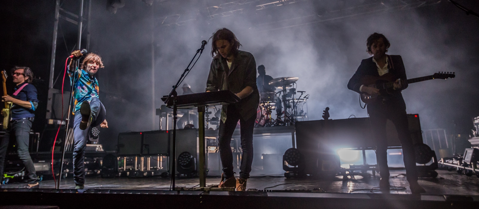 French indie pop band Phoenix put on a memorable show.