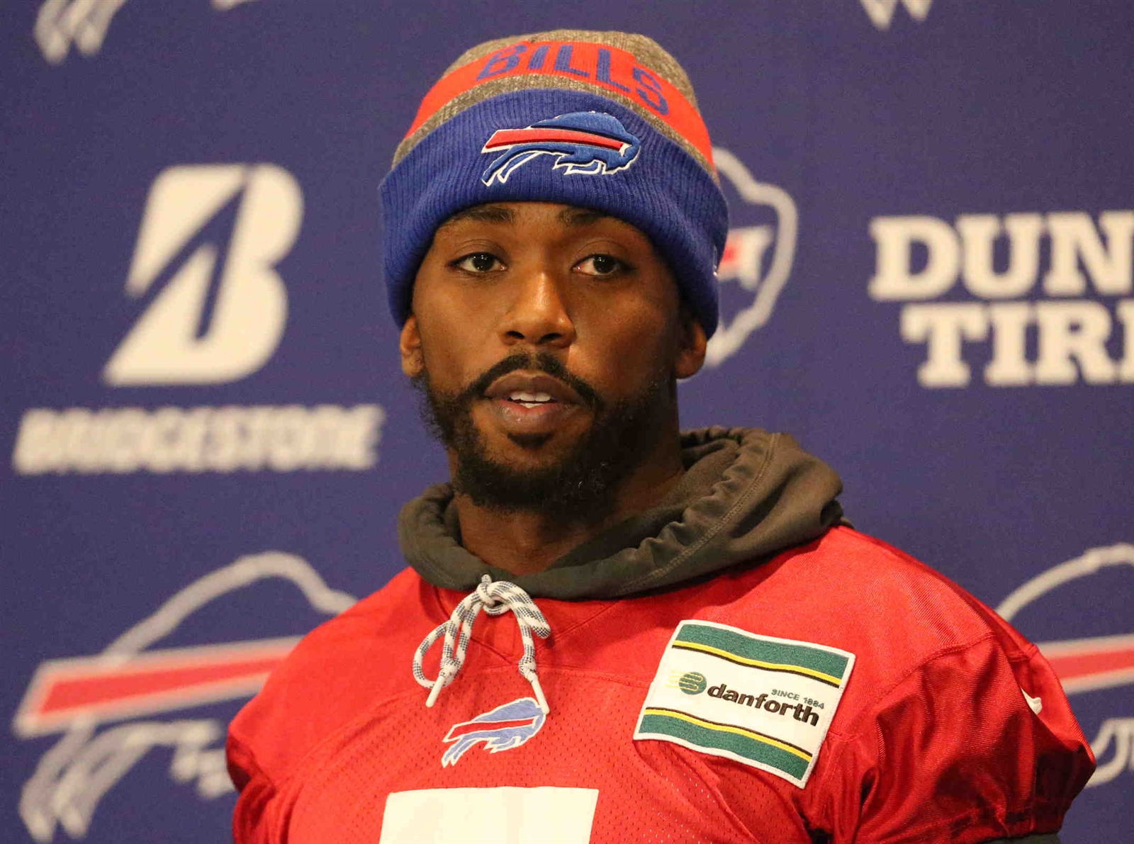 Tyrod Taylor made no attempt to hide his disappointment over being benched as the Buffalo Bills' quarterback Wednesday.