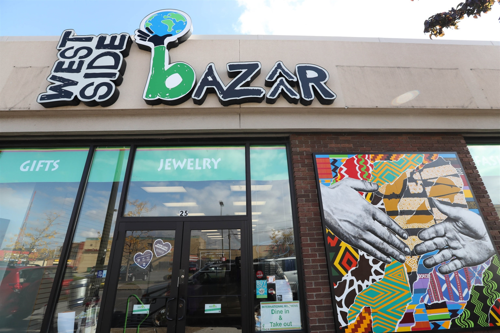 The West Side Bazaar at 25 Grant St. in Buffalo has several small restaurants specializing in authentic ethnic food. The restaurants use a common kitchen and provide a unique opportunity to experience food diversity in one locale.