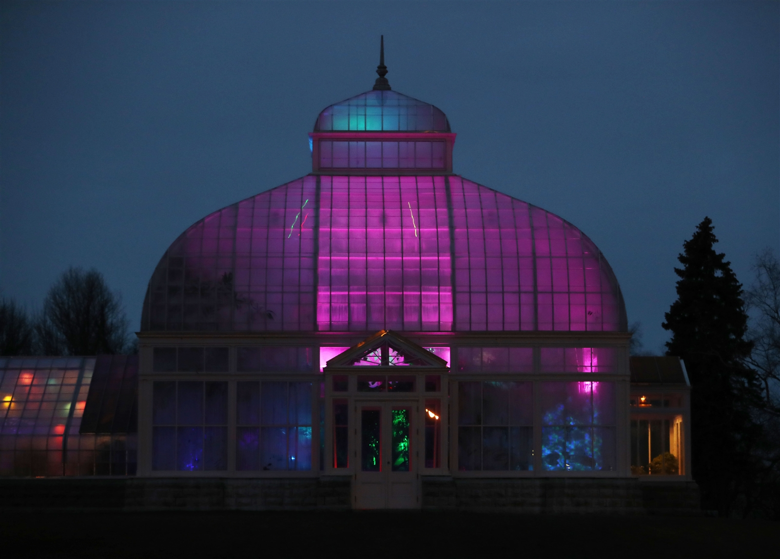"Lumagination transforms the Botanical Gardens with light. It opens to the public on Saturday, and runs specific days through Feb. 24. The theme is ""Under the Sea,"" which gives visitors the feeling that they are on the ocean floor."