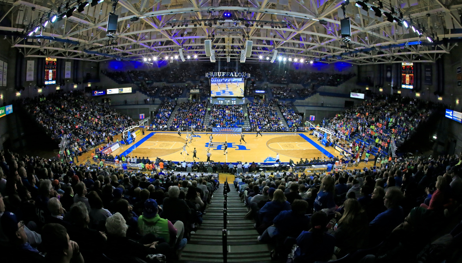 University at Buffalo against Western Michigan during first half action at Alumni Arena on Friday, Feb. 2, 2018.
