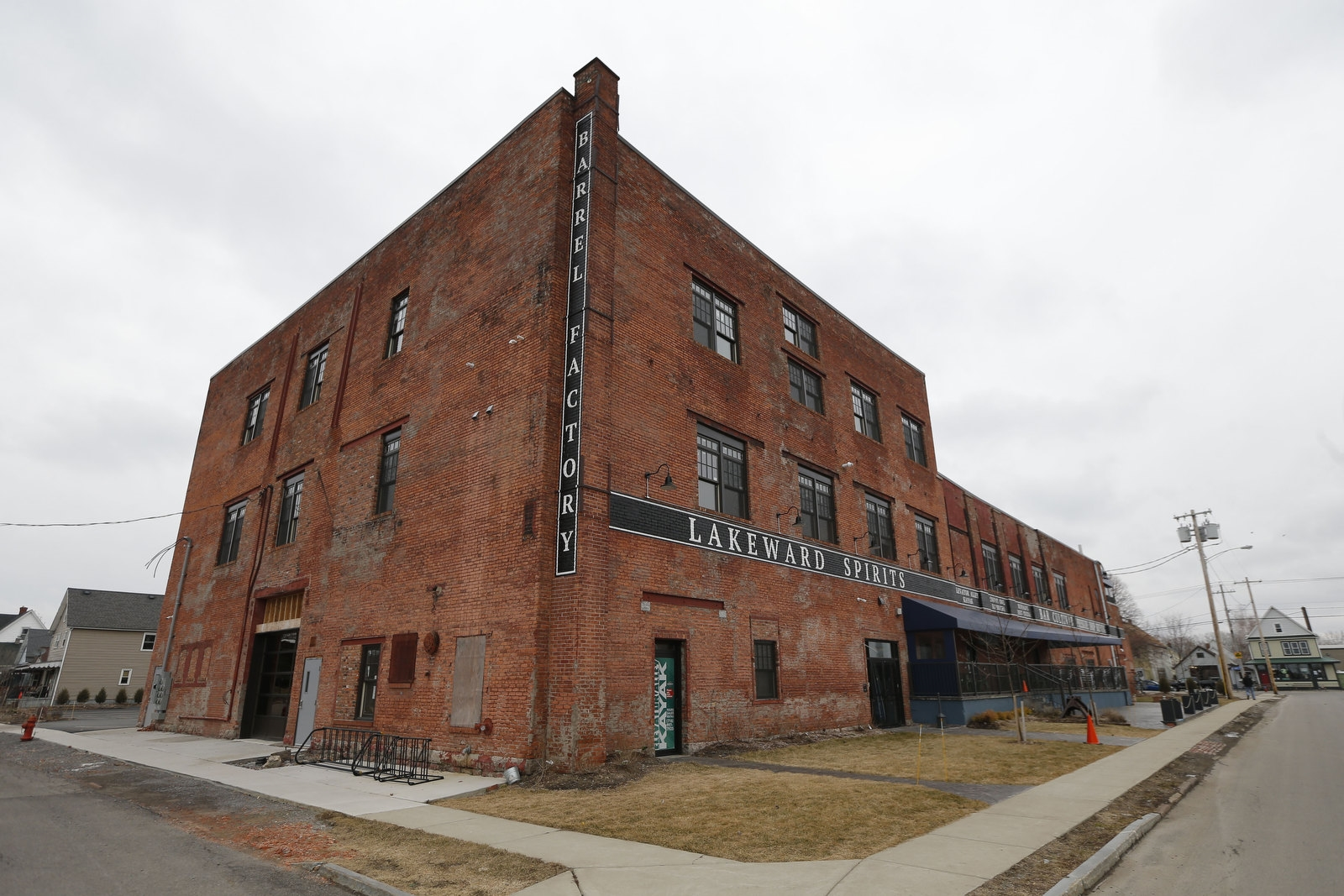 The Barrel Factory was built in 1903 for the Quaker City Cooperage Company. The 45,000 square foot building located in the Old First Ward was recently restored.