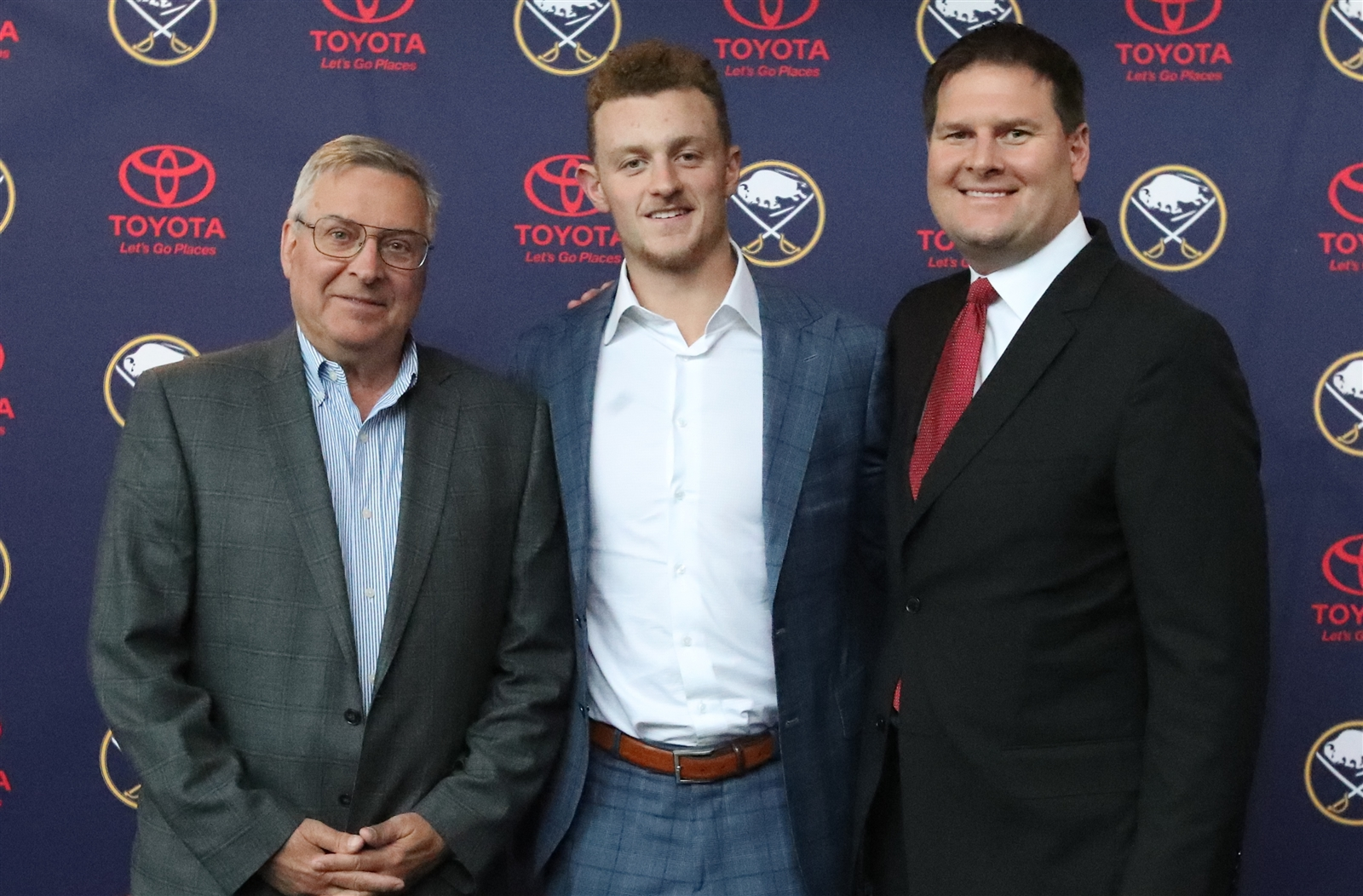 Oct. 4: Jack Eichel signs the biggest contract extension in franchise history, an eight-year, $80 million deal that keeps him in Buffalo through the 2025-26 season.