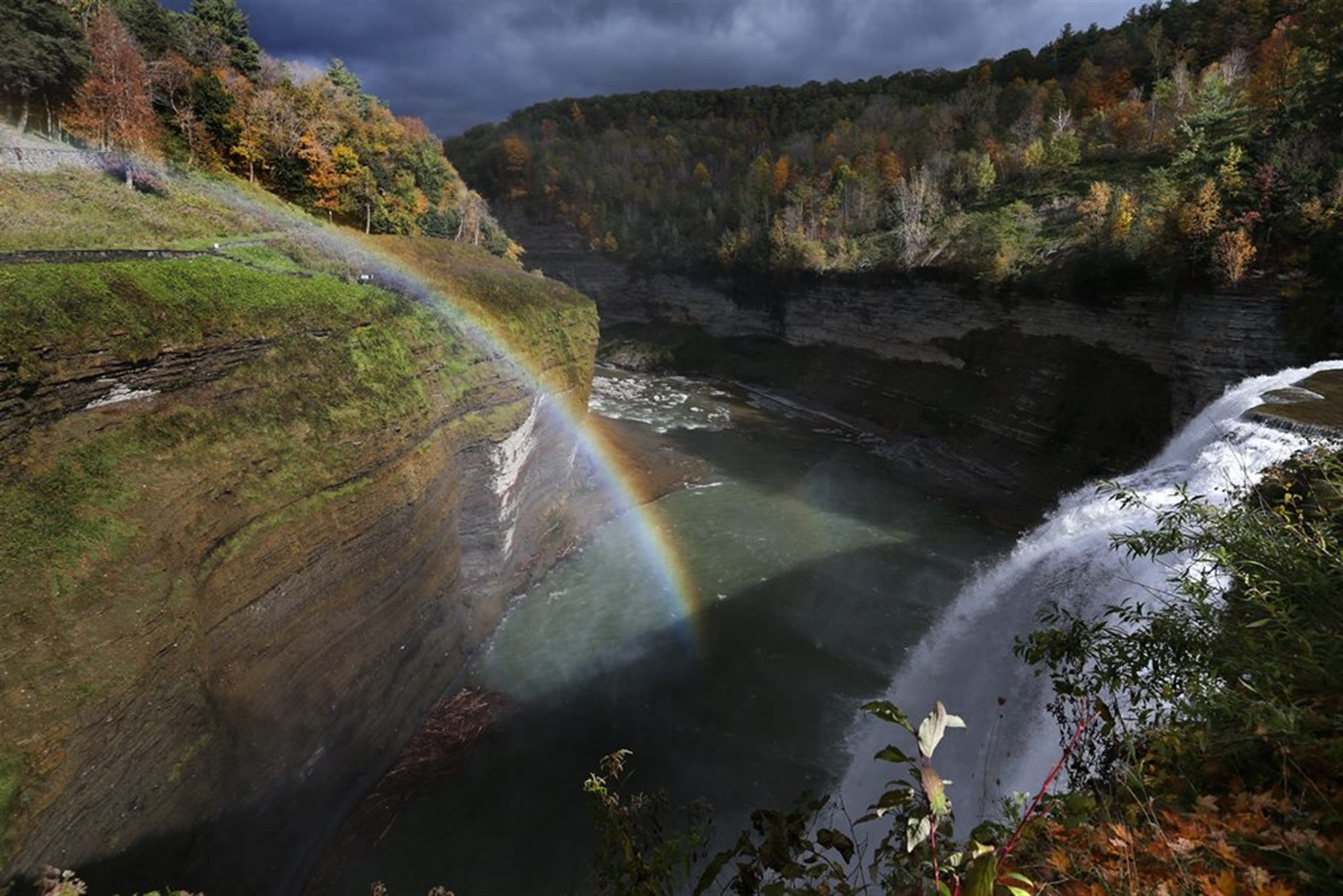 Letchworth State Park, Castile. (585) 493-3600  Nicknamed u201cthe Grand Canyon of the East,u201d Letchworth is a getaway that really makes you feel you are getting away. With more than 14,000 acres along the Genesee River, people rave about the gorge and three exceptional waterfalls. There are 70 miles of trails to hike, rated easy to moderate difficulty.