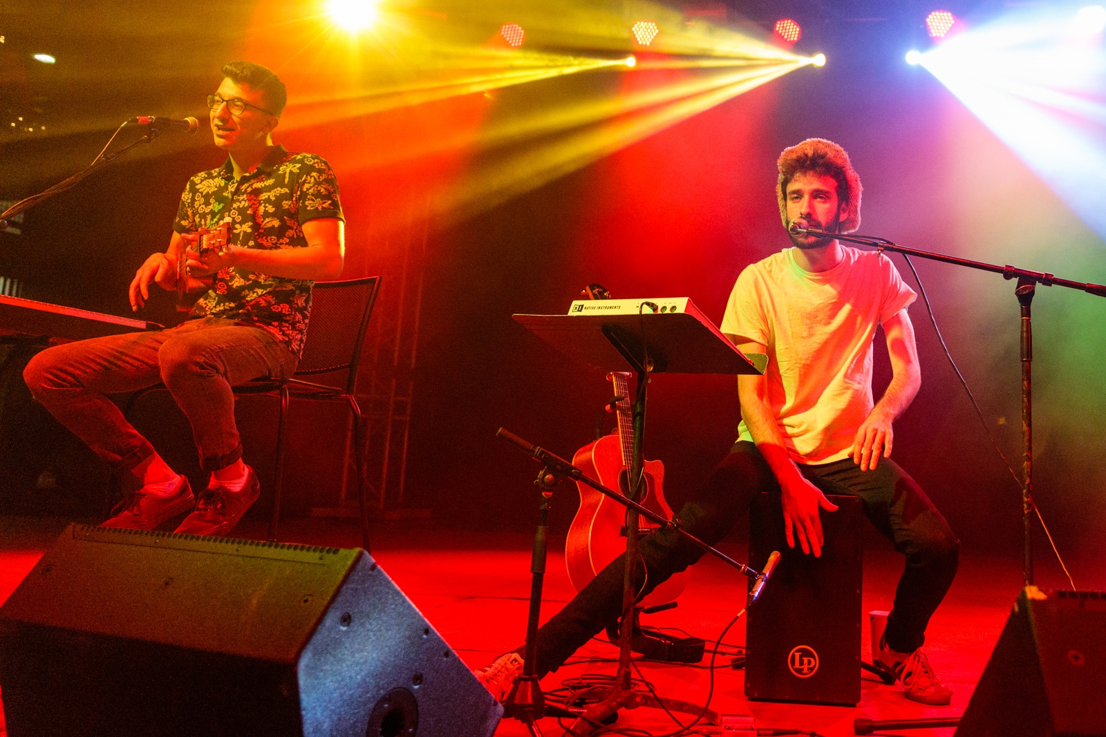 AJR was one of the major bands on the bill Sunday.